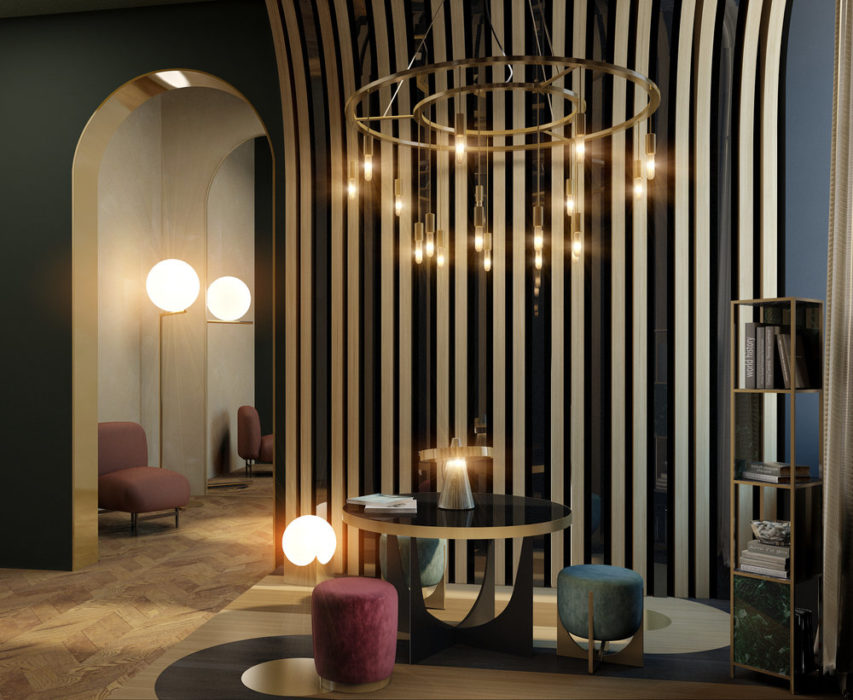 Bureau project for showroom — VADIM MALTSEV DESIGN & DECOR